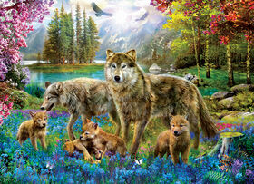 Eurographics Wolf Lake Fantasy Oversize 500 PC Puzzle