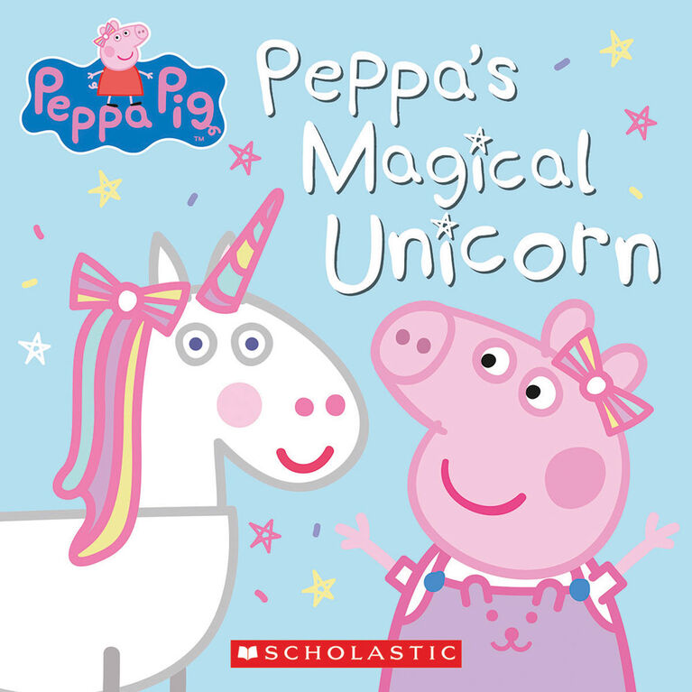 Scholastic - Peppa Pig: Peppa's Magical Unicorn - Édition anglaise