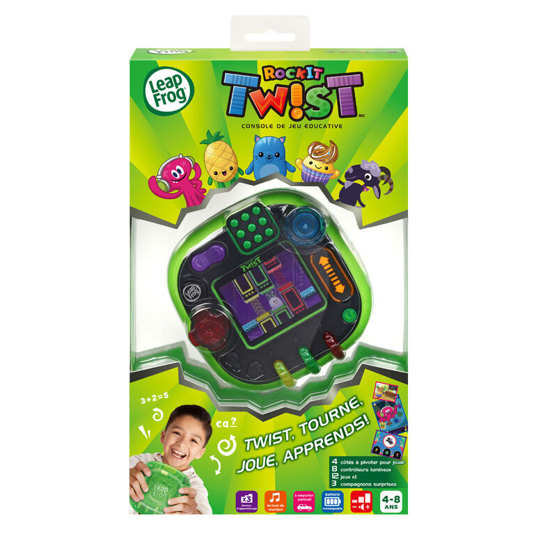LeapFrog RockIt Twist - Green - French Edition