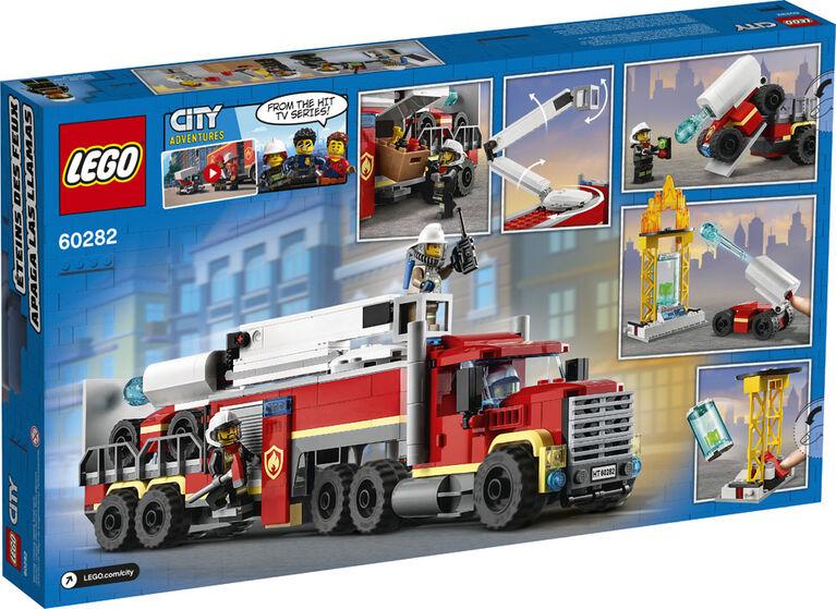 LEGO City Fire Fire Command Unit 60282
