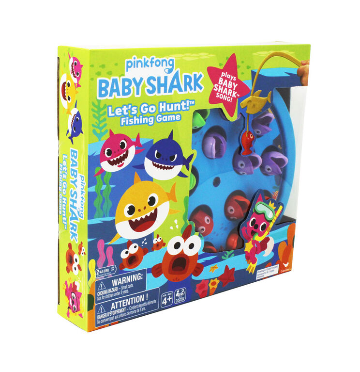Baby Shark Let's Go Hunt Fishing Game