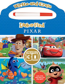 Write And Erase Look And Find Pixar - English Edition