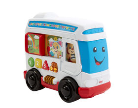 Fisher-Price Laugh & Learn Learn Around Town Bus - English Edition