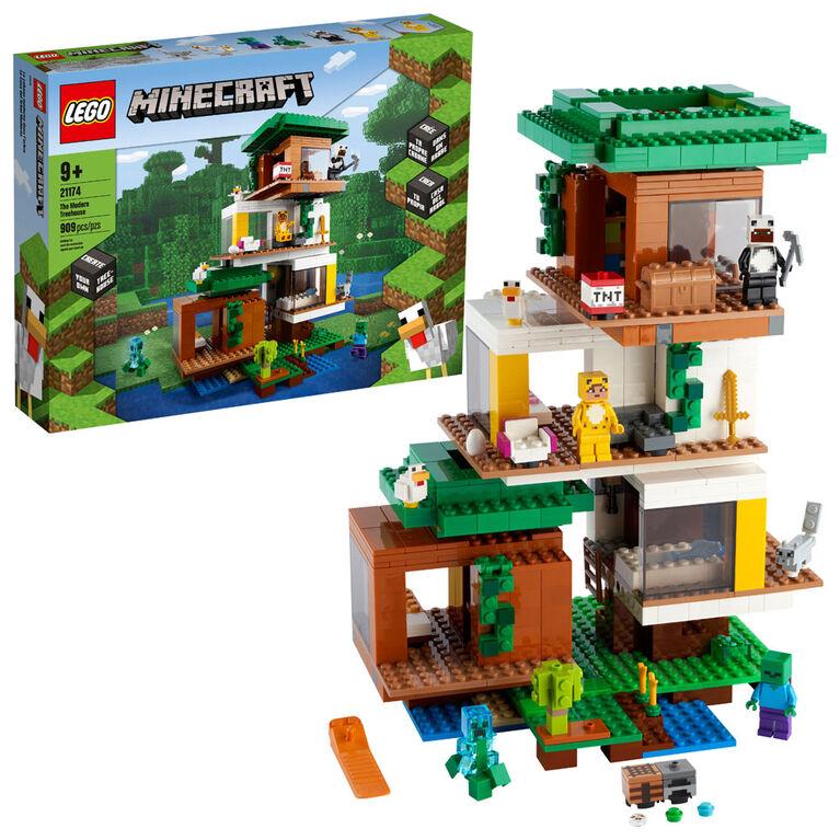 LEGO Minecraft La cabane moderne dans l'arbre 21174