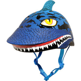 Raskullz - casque de vélo pour enfants 5 ans et plus Shark Jawz - bleu