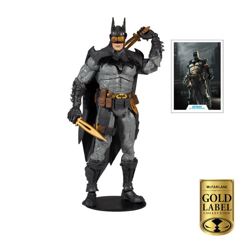 McFarlane Gold Label Collectors Series: Batman Figure - R Exclusive
