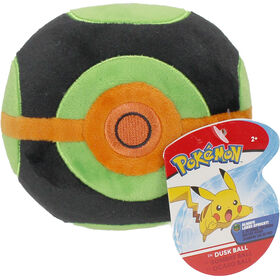"Pokémon 4"" Pokeball Plush - Dusk Ball"