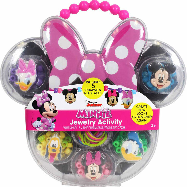 Minnie Mouse Necklace Activity - English Edition