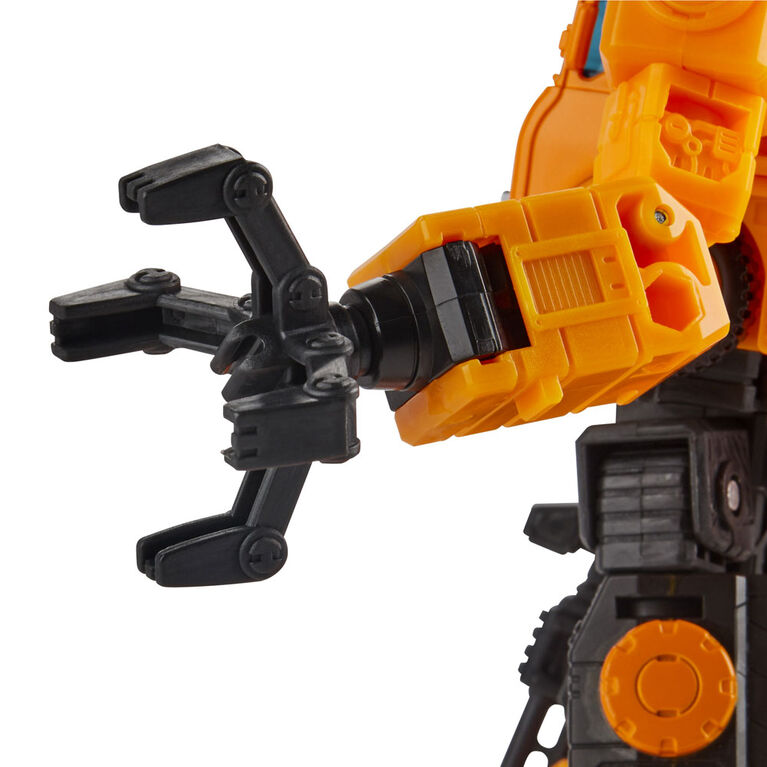Transformers Toys Generations War for Cybertron: Earthrise Voyager WFC-E10 Autobot Grapple Action Figure