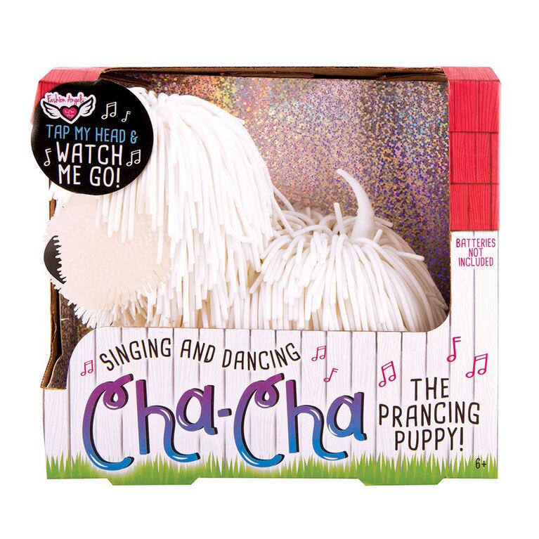 Fashion Angels Cha Cha le chien cabré - blanc - Édition anglaise
