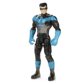 Batman 4-inch Nightwing Action Figure with 3 Mystery Accessories