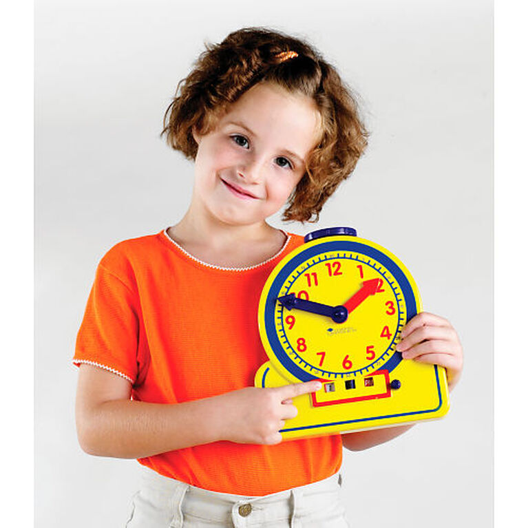 The Primary Time Teacher - Junior 12-Hour Learning Clock - English Edition