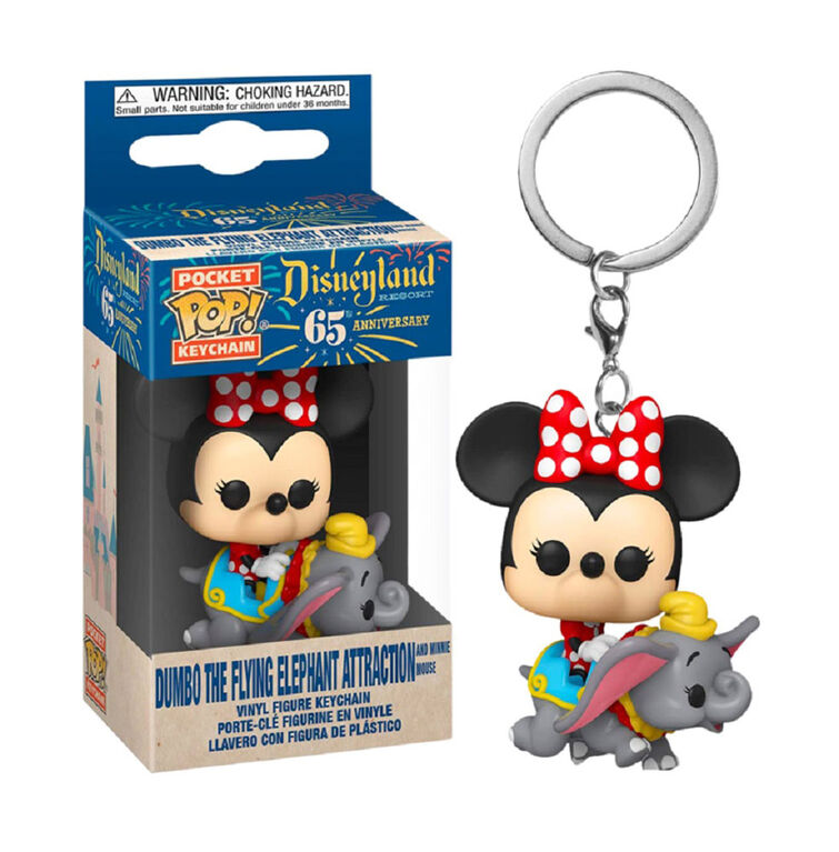 Funko POP! Keychain Disney: Disneyland 65th - Dumbo the Flying Elephant Attraction