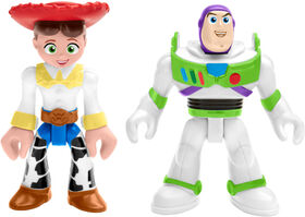 Fisher-Price - Imaginext - Toy Story - Buzz Lightyear et Jessie