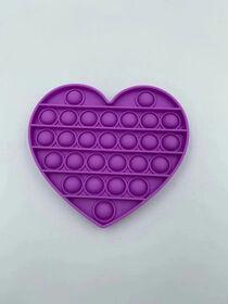 Push Pop Fidget - Coeur Violet