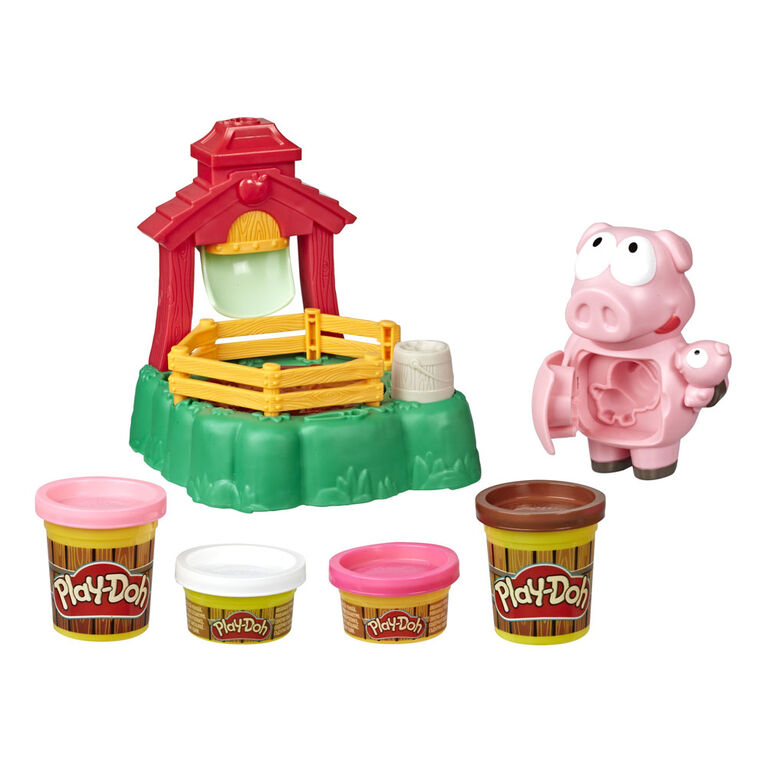 Play-Doh Animal Crew, Pigsley Cochons farceurs