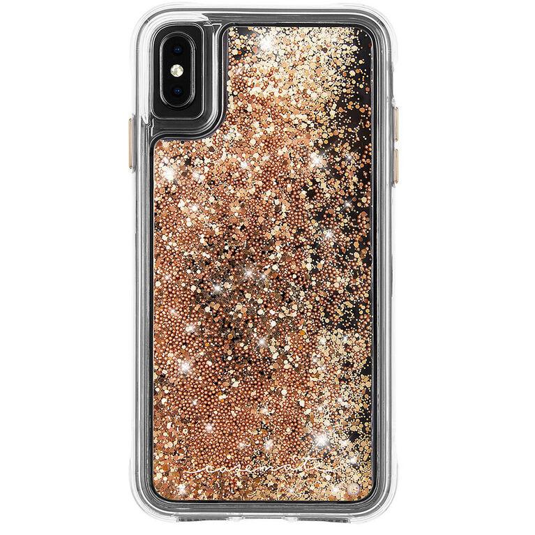 Étui Waterfall de Case-Mate pour iPhone Xs Max, or