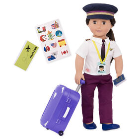 Our Generation, Kaihily, 18-inch Pilot Doll