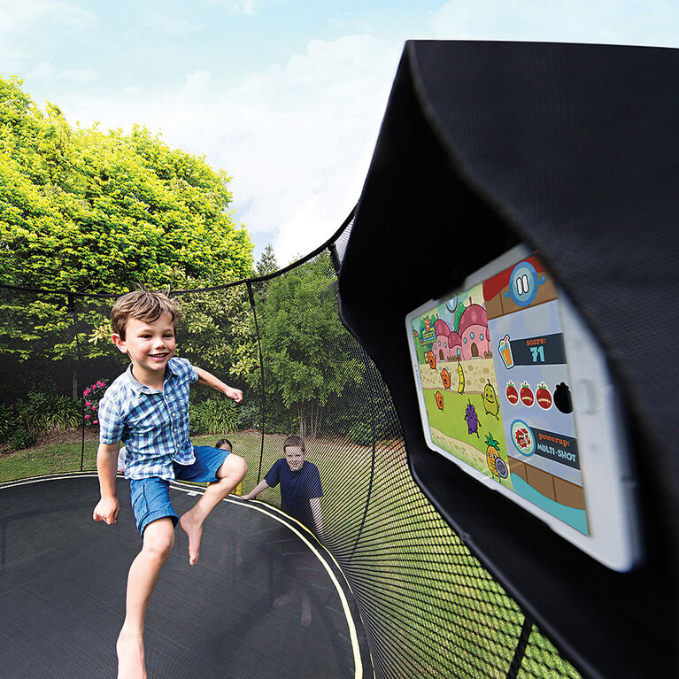 Springfree 8 ft x 13 ft Large Oval Trampoline with Safety Enclosure