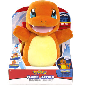 Pokémon Flame Action Charmander - R Exclusive