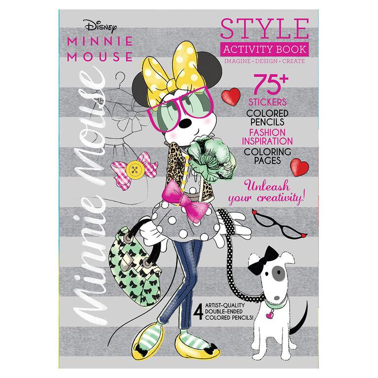 Disney Minnie w Colored Pencils - English Edition