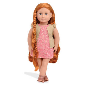 "Our Generation, Patience, ""From Hair To There"", 18-inch Hair Play Doll - English Edition"