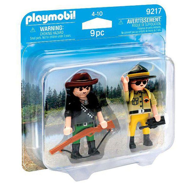 Playmobil - Ranger and Hunter