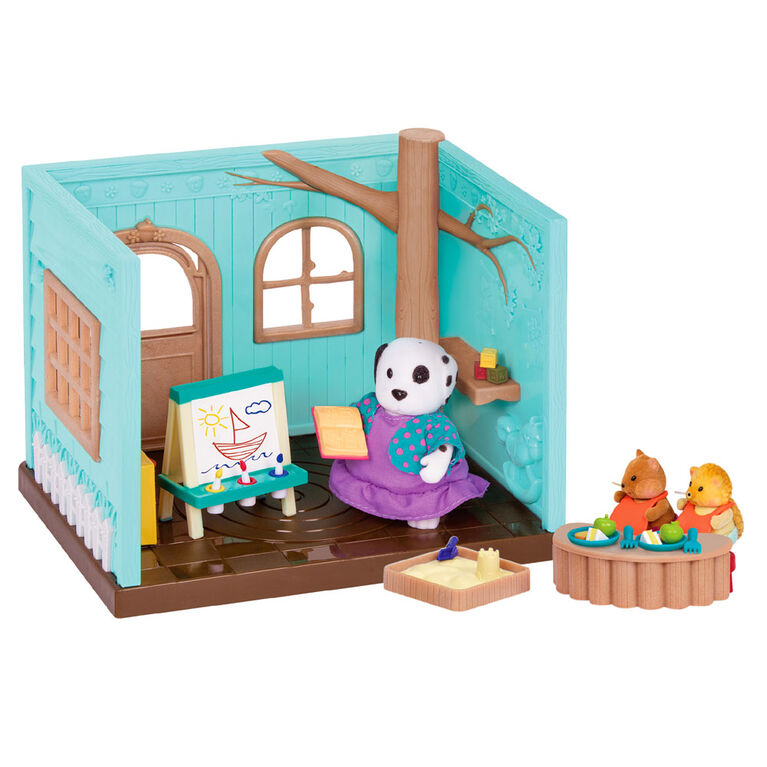 Li'l Woodzeez, Li'L Luvs & Hugs Nursery Playset - styles may vary