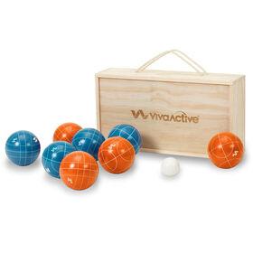 Viva Active Bocce Boxed Set, Intermediate,100 mm