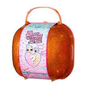 PRE-ORDER, SHIPS JUL 7, 2021 - LOL Surprise Color Change Bubbly Surprise Orange with Exclusive Doll and Pet