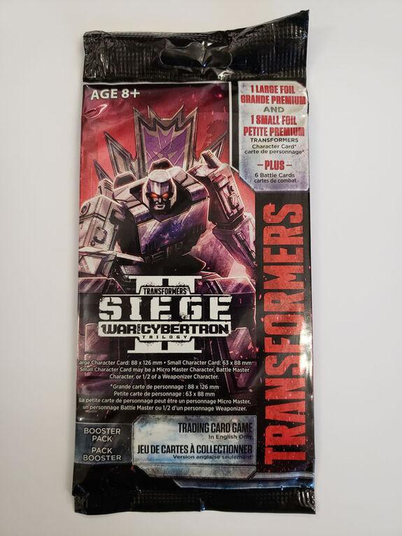 Transformers: Booster La Guerre pour Cybertron, Siège II - Édition anglaise