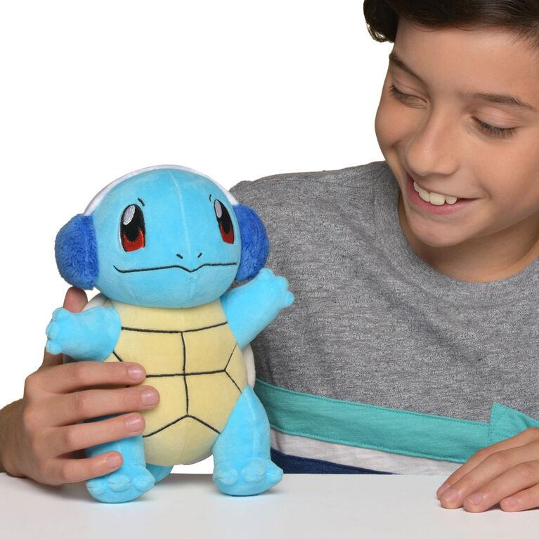 Peluche Pokémon des Fêtes de 20 cm - Carapuce (Squirtle) - R Exclusif