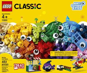 LEGO Classic La boîte de briques et d'yeux 11003