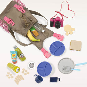 Our Generation, What A Trek Set, Hiking Set for 18-inch Dolls - English Edition
