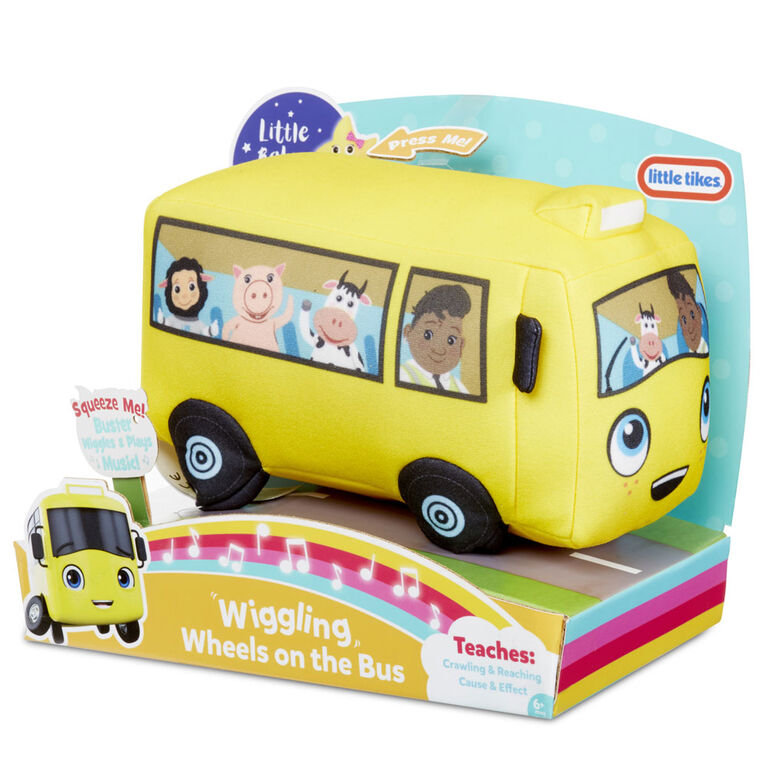 Little Baby Bum Wigglin' Wheels on the Bus Official Plush Toy