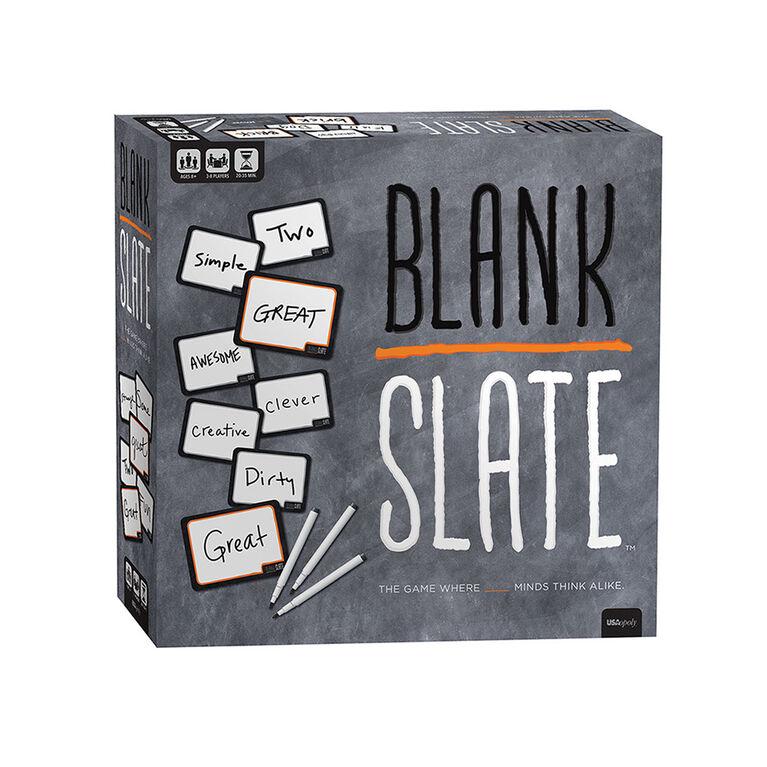 BLANK SLATE Card Game - English Edition