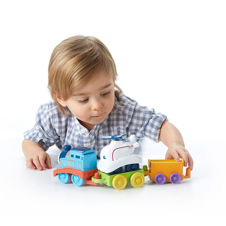 Fisher-Price My First Thomas & Friends Roll & Spin Rescue Train