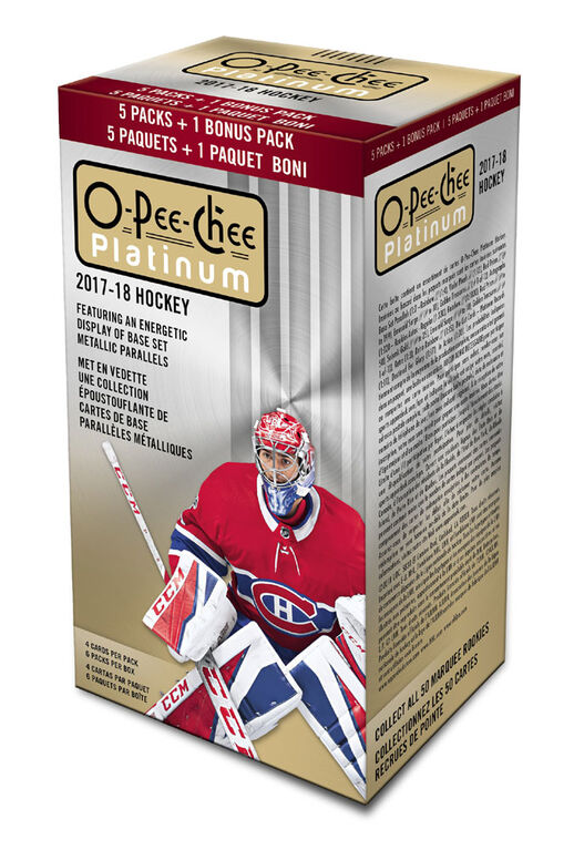2017/18 O-Pee-Chee Platinum Hockey Blaster