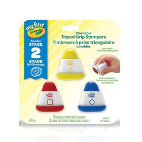 Crayola - My First Crayola Washable Tripod Grip Stampers