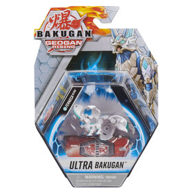 Bakugan Ultra, Fenneca, 3-inch Tall Geogan Rising Collectible Action Figure and Trading Card