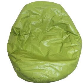 Boscoman - Fun Teardrop Adult Vinyl Bean Bag - Bud Green