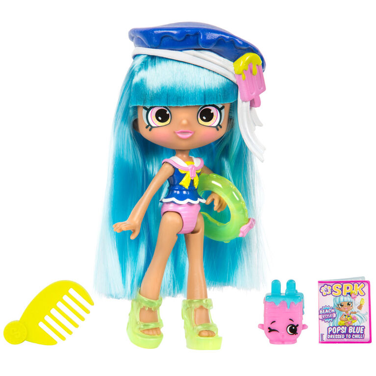 Shopkins Beachstyle Shoppies Popsi Blue