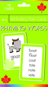 K-1 Skill Building - Rhyming Words - English Edition