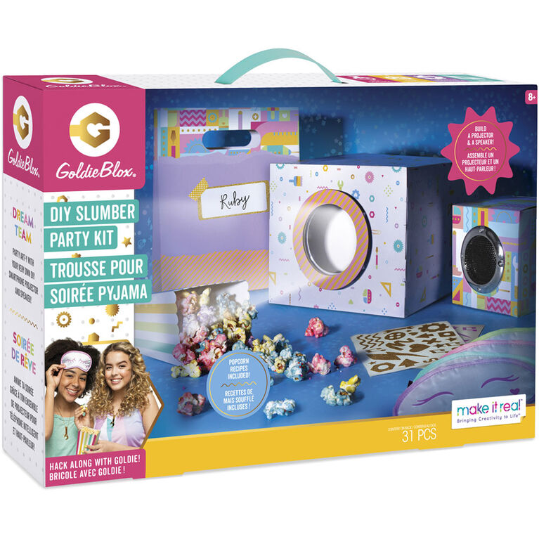 Goldie Blox DIY Slumber Party Kit