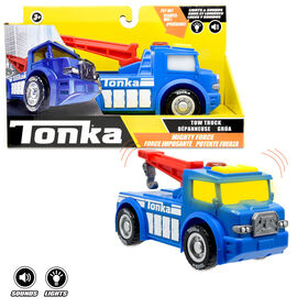 Tonka - Mighty Force L&S Tow Truck