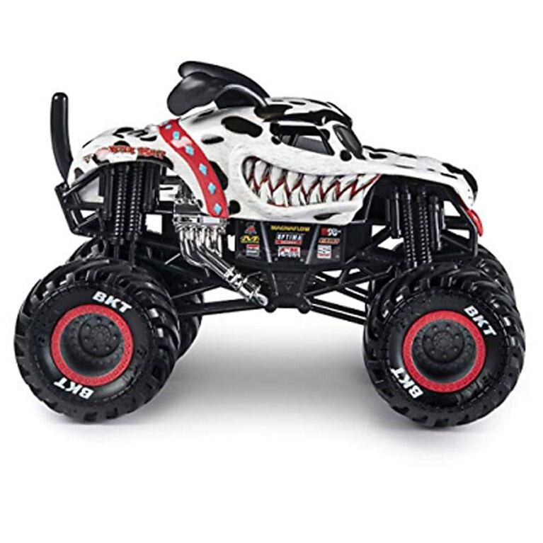 Monster Jam, Official Monster Mutt Dalmatian Monster Truck, 1:24 Scale