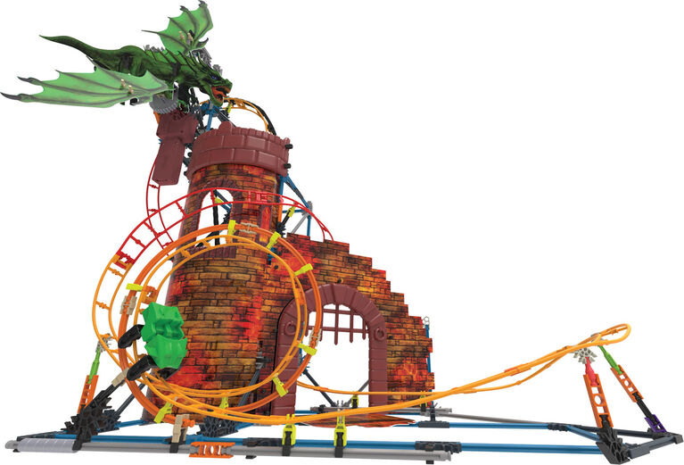 La Vengeance Du Dragon Frisson Coaster