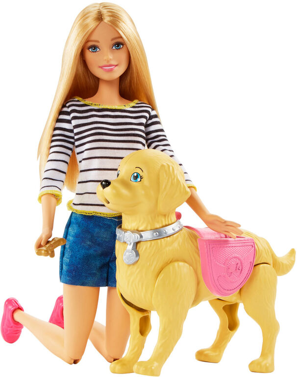 Barbie Walk & Potty Pup