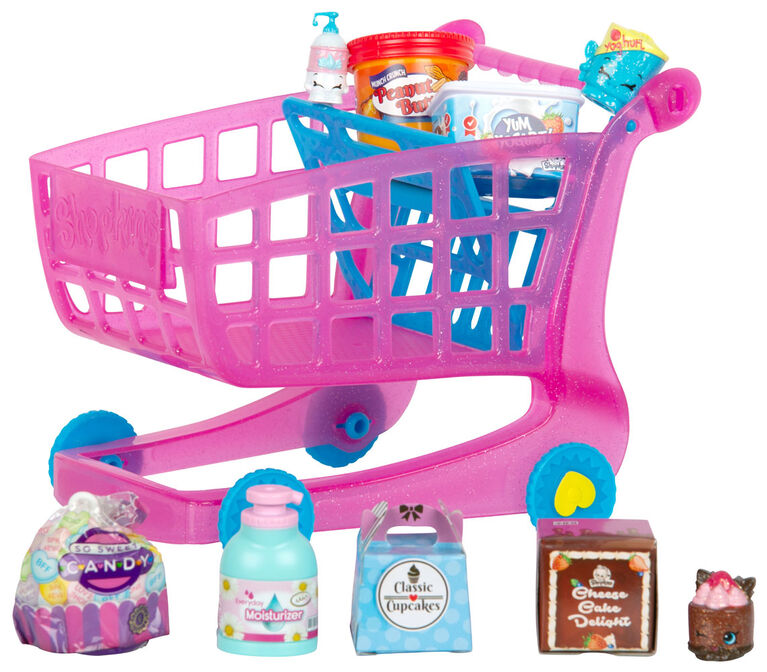 Shopkins Season 10 Mini Packs - Small Mart Shoppin' Cart - R Exclusive