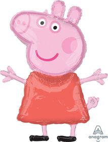 Grand Ballon Métallique Peppa Pig